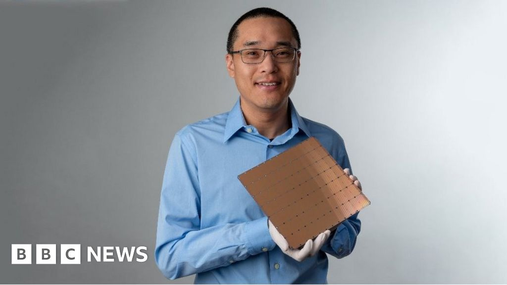 Cerebras reveals world's 'largest computer chip' for AI tasks