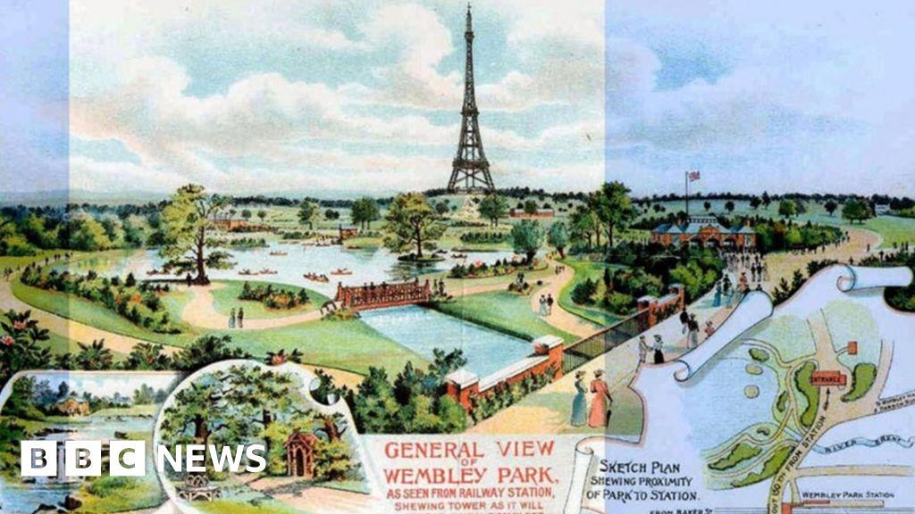 Watkin s Wembley folly: London s  Eiffel Tower  that never was