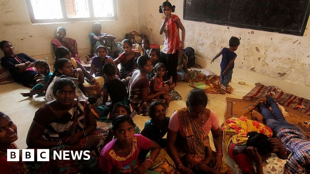 Millions in India in path of huge cyclone