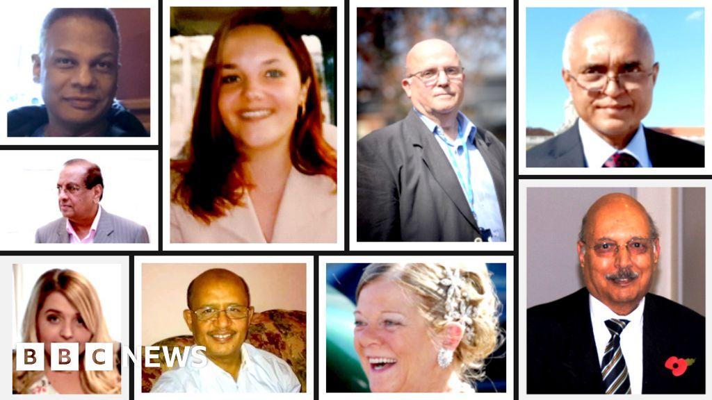 Coronavirus: Minute of silence-in memory of NHS staff