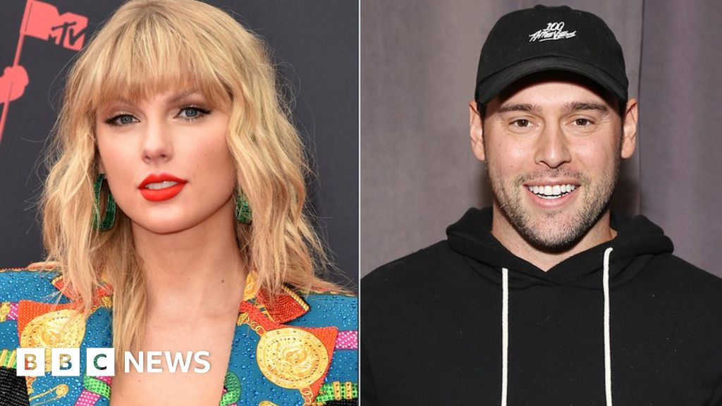 Braun pleads with Taylor Swift after death threats