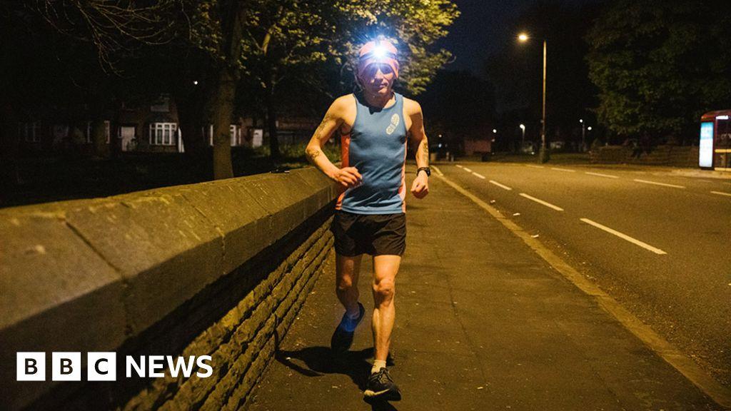 'I run lockdown marathons in the dead of night'
