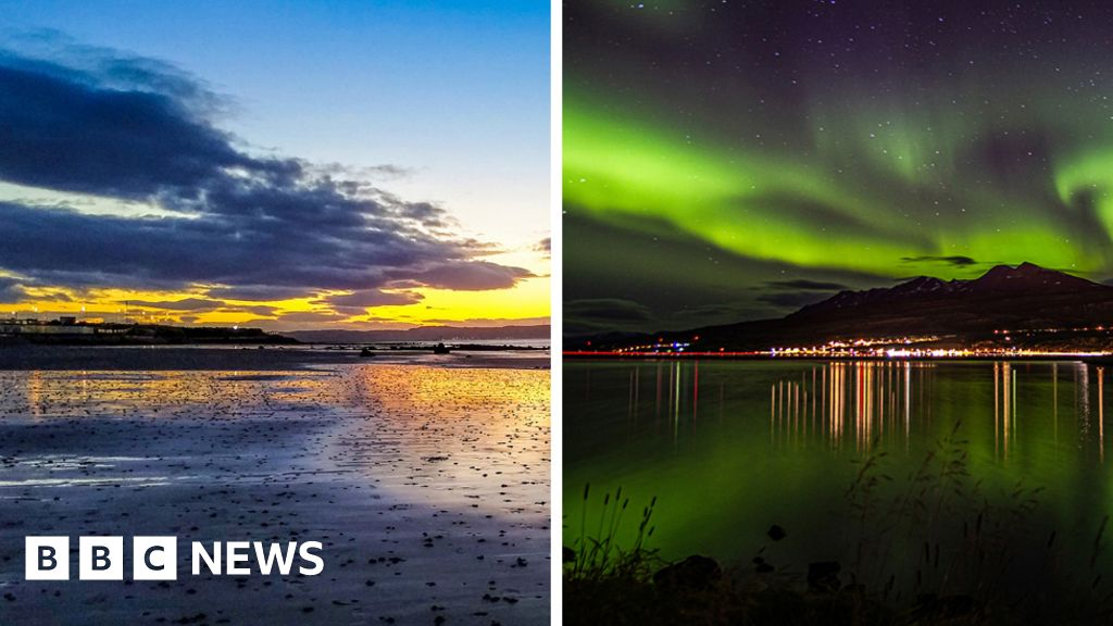 In pictures: Seaside photos taken 800 miles apart thumbnail