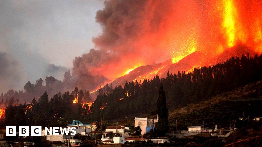 Canary Islands volcano: Hundreds more evacuated as La Palma lava nears sea