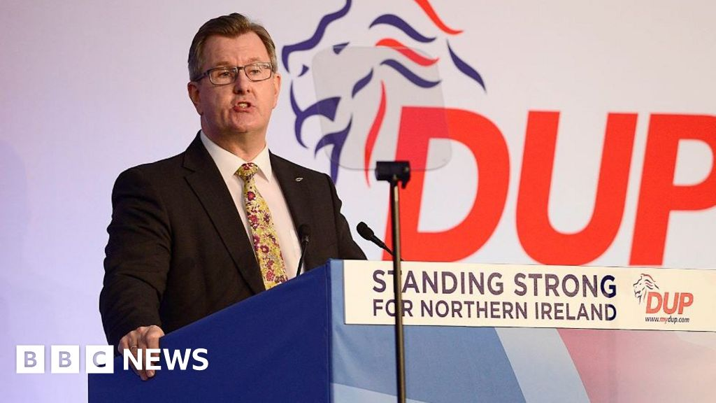 DUP leadership: Sir Jeffrey Donaldson due to declare bid