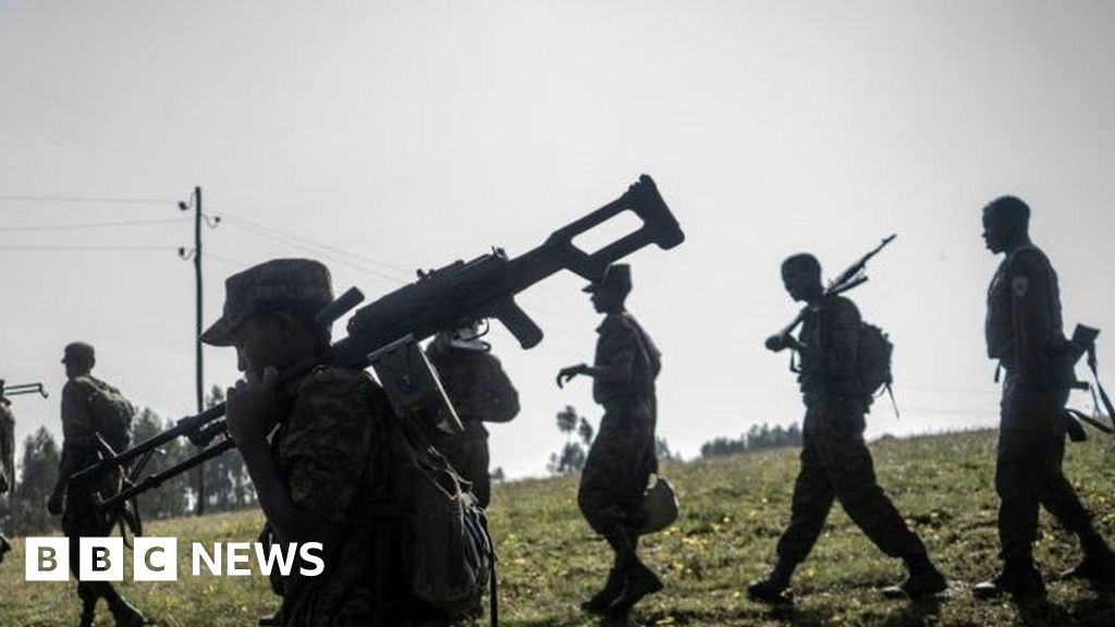 Ethiopia's Tigray crisis: Army launches offensive on all fronts - rebels