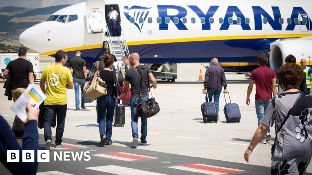 Ryanair to cancel 190 flights on Friday