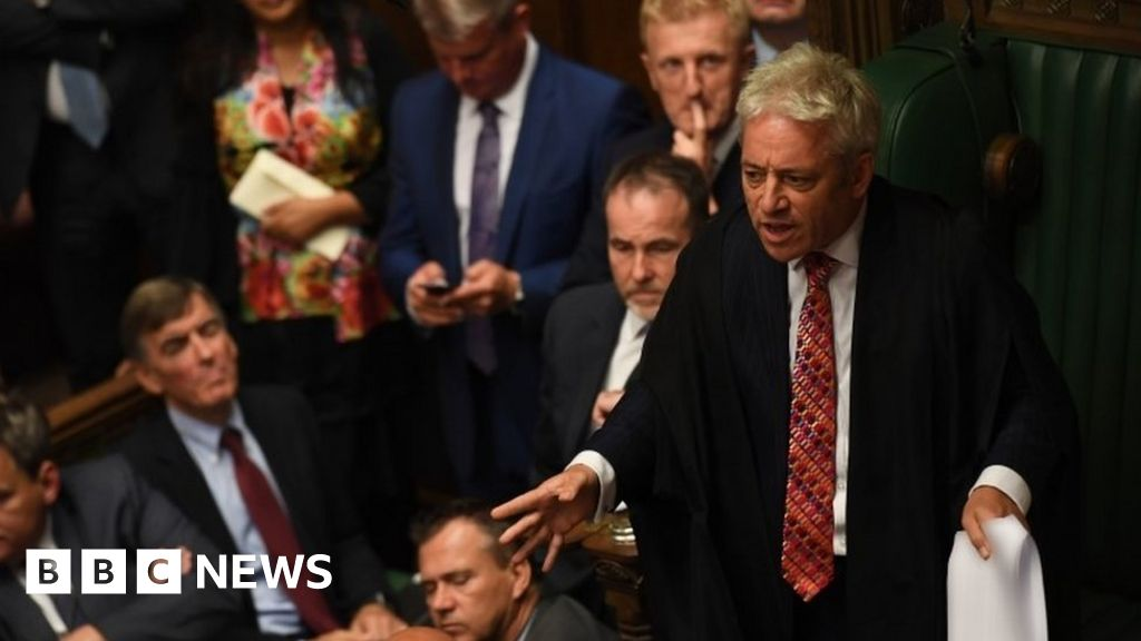 Candidates battle it out to replace Commons Speaker Bercow