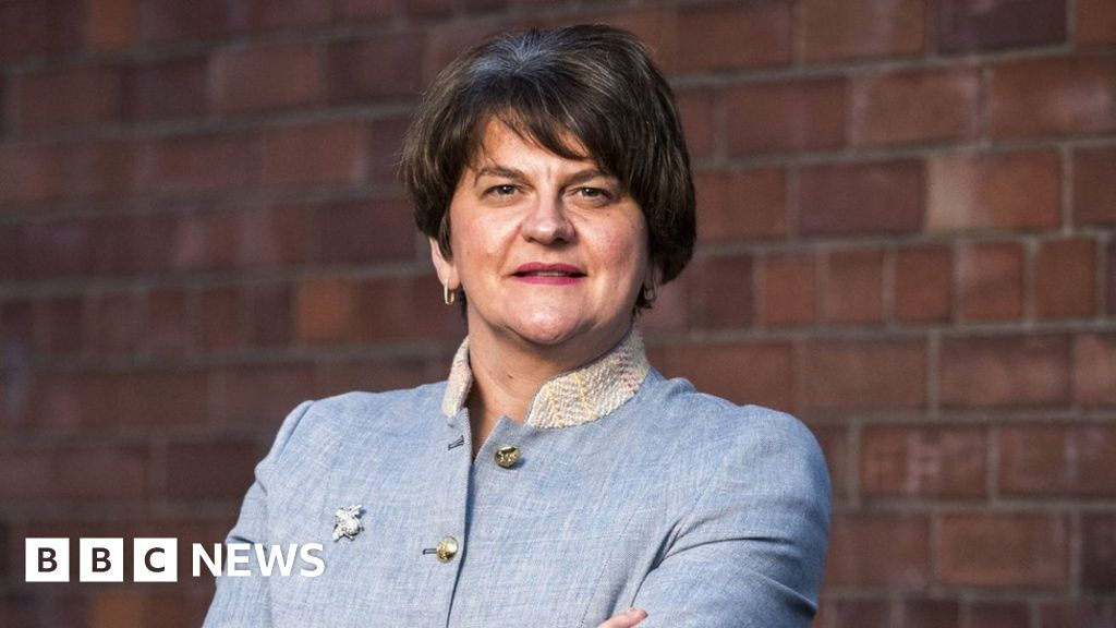Arlene Foster: Christian Jessen threatened with legal action over tweet