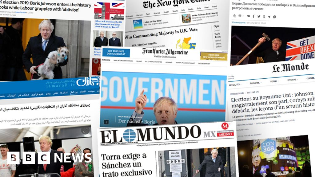 General election 2019: World media weigh the price of Johnson s win
