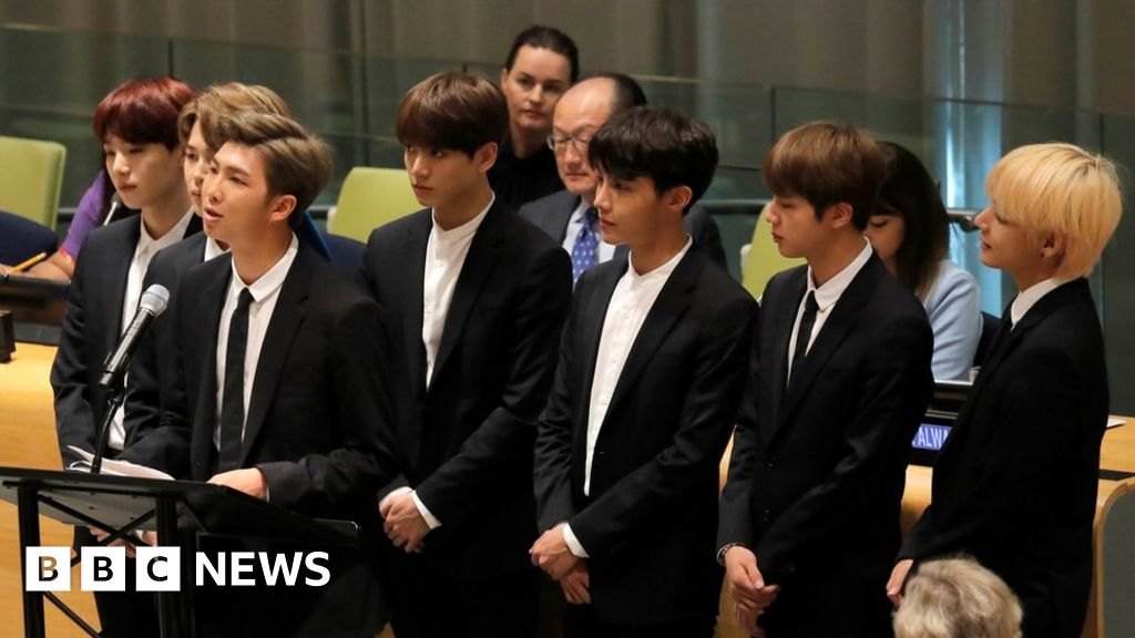 BTS: K-pop band's management apologises for Nazi-inspired