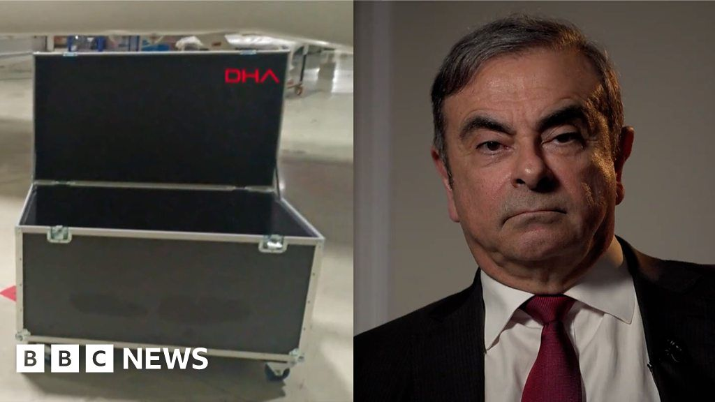 Carlos Ghosn: Did ex-Nissan boss really escape Japan in a box?