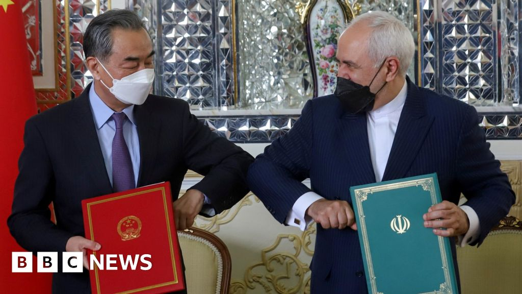 China is looking to the Middle East with Iran's cooperation agreement