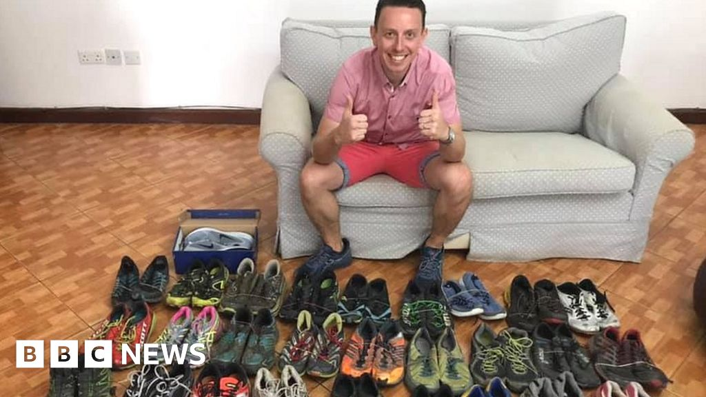 Soldier s mission to give shoes to vulnerable in Uganda