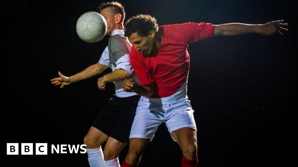 Can Soccer Headers Cause Brain Damage >> Football Headers Linked To Brain Damage Bbc News