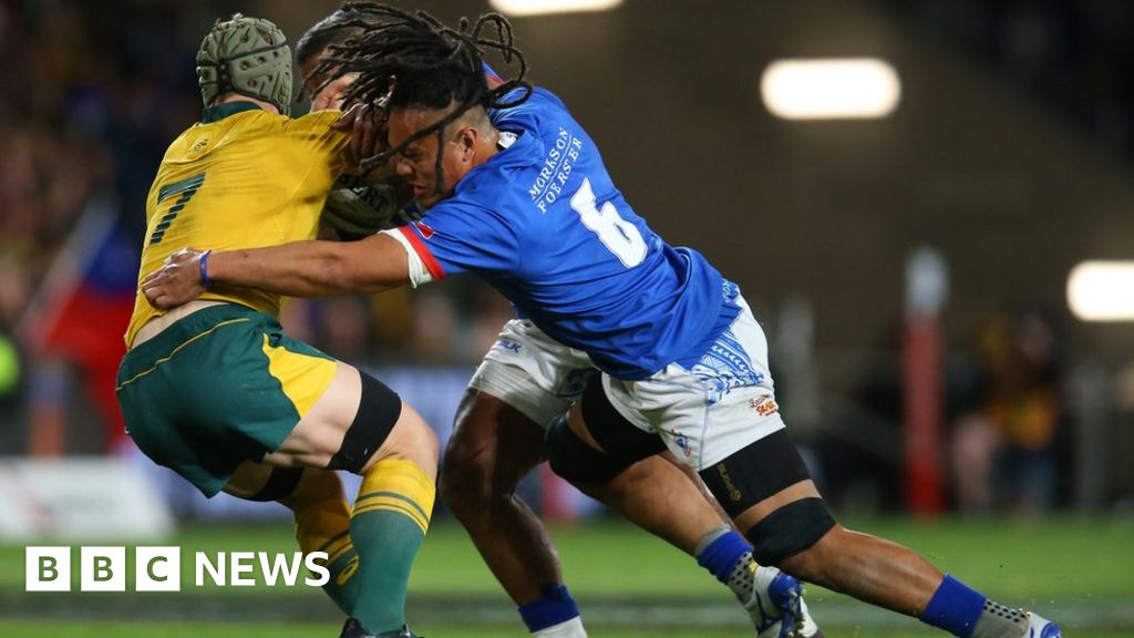 Climate change: Rugby World Cup highlights injustice