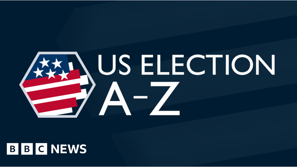Us Election Glossary A Z Guide To Political Jargon Bbc News