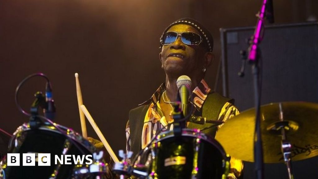 BBC News | 'World's greatest drummer' Tony Allen dies