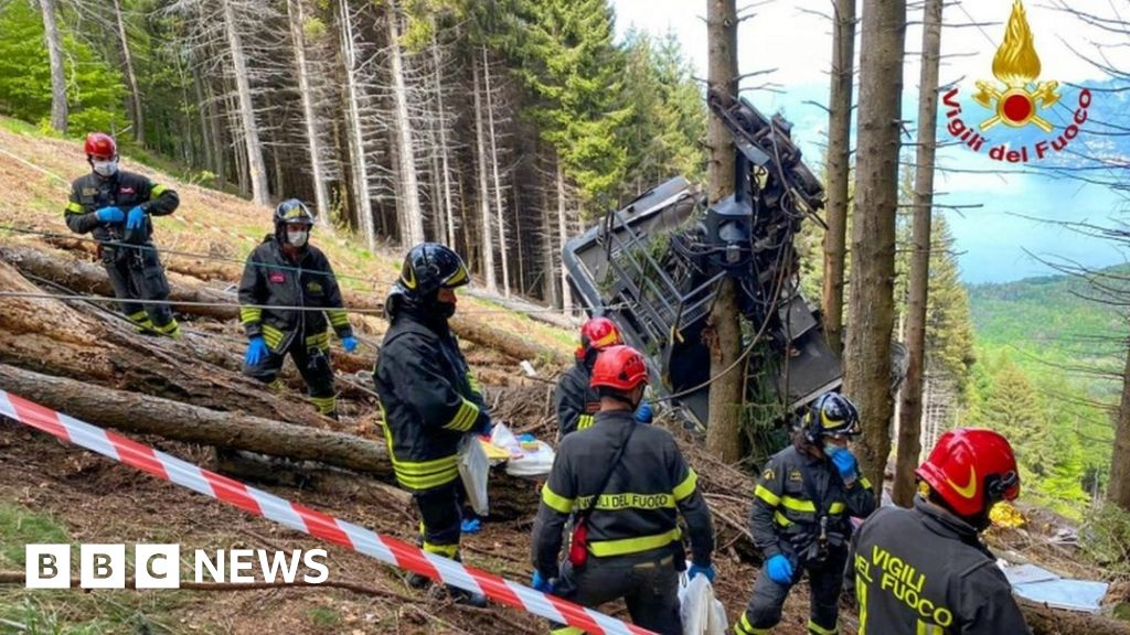 Italian cable car: anger as a video of the accident shown on TV