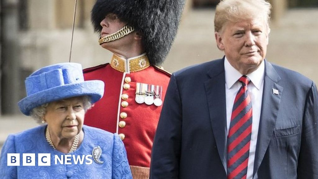 The Queen and Donald Trump talk on phone ahead of US Independence Day thumbnail