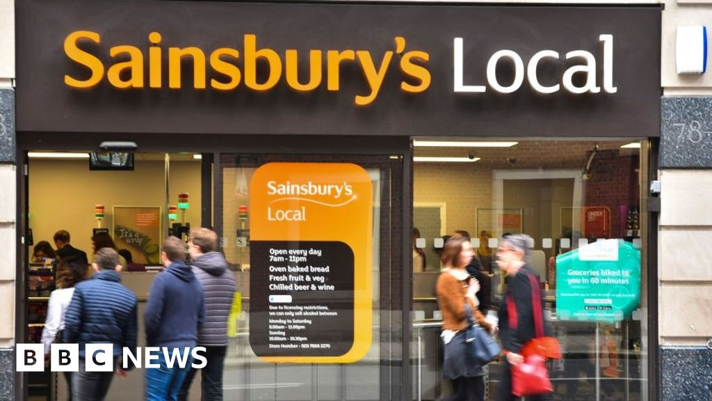 Sainsbury's shares hit by Asda deal fears
