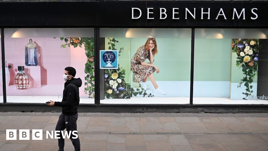 Debenhams to cut 2,500 more jobs amid pandemic - BBC News