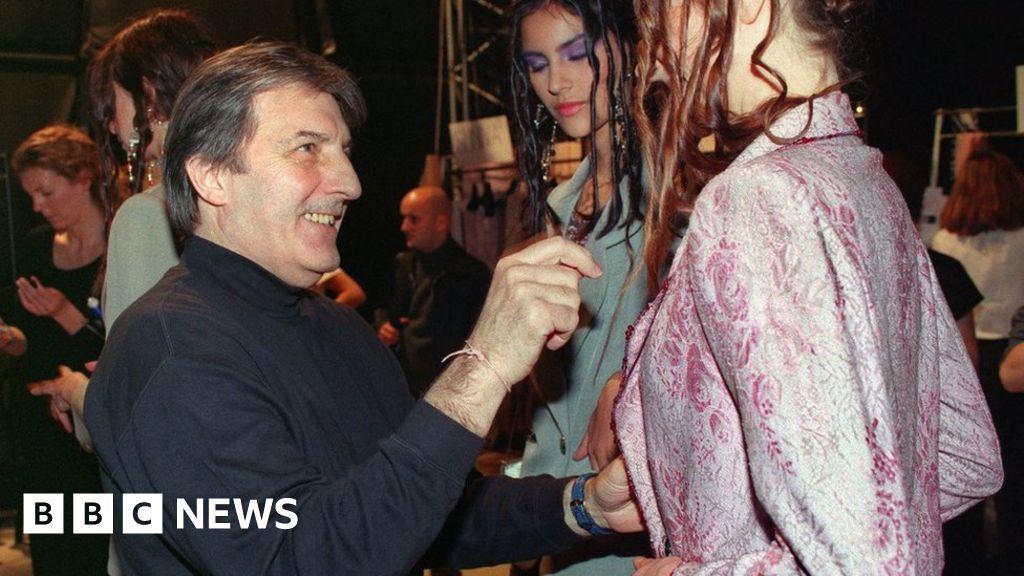 Emanuel Ungaro: French fashion designer Emanuel dies aged 86