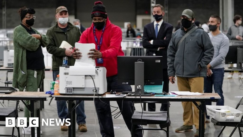 Georgia Senate election on knife-edge in vote rely