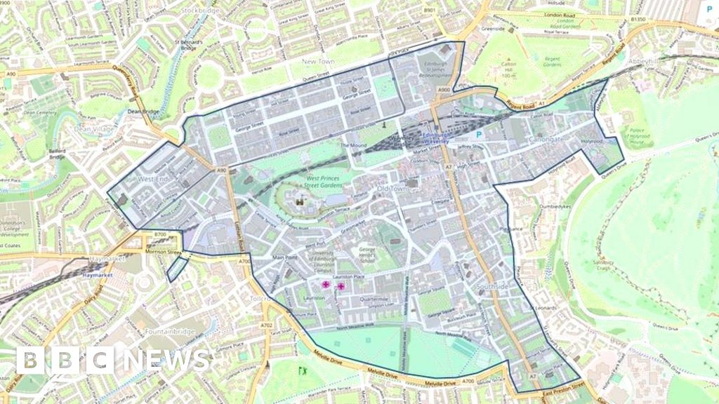 4d175746be Older cars to pay Edinburgh city centre levy - BBC News