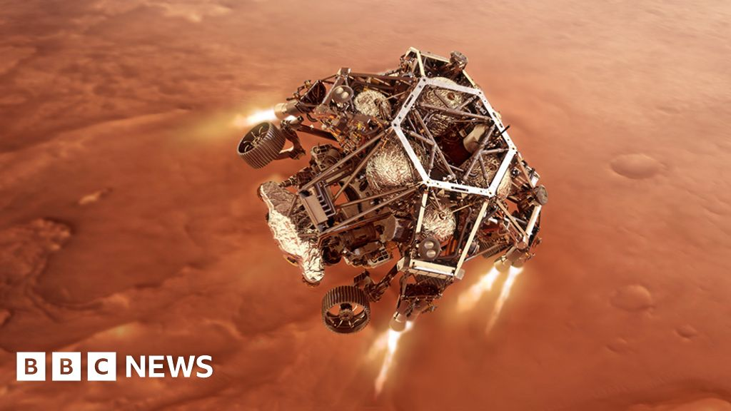 Nasa's Mars rover and the 'seven minutes of terror' - BBC News