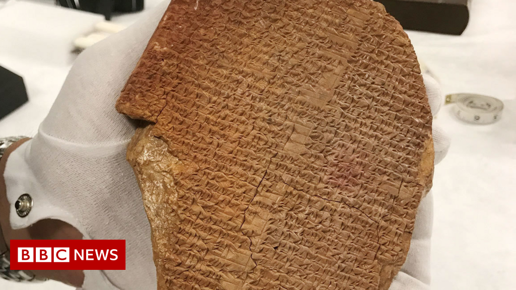 Gilgamesh tablet: Bid to confiscate artefact from Museum of the Bible thumbnail