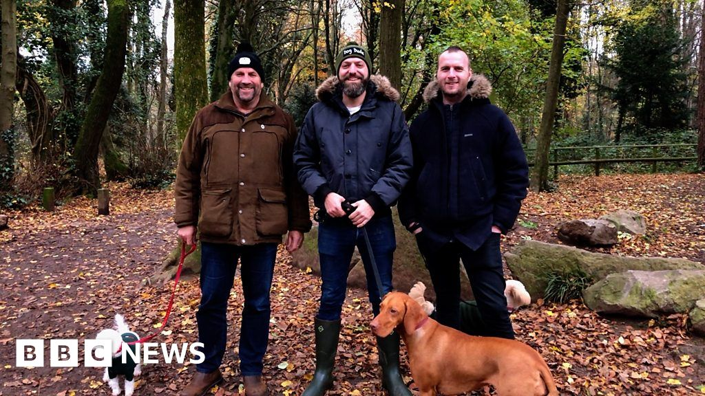 Dog walker helps men talk about mental health