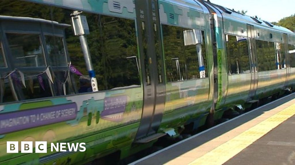 First service on new Borders Railway