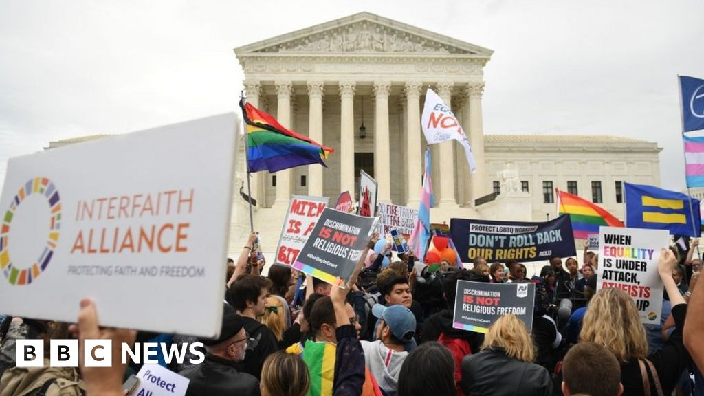 US Supreme Court hears major LGBT rights cases