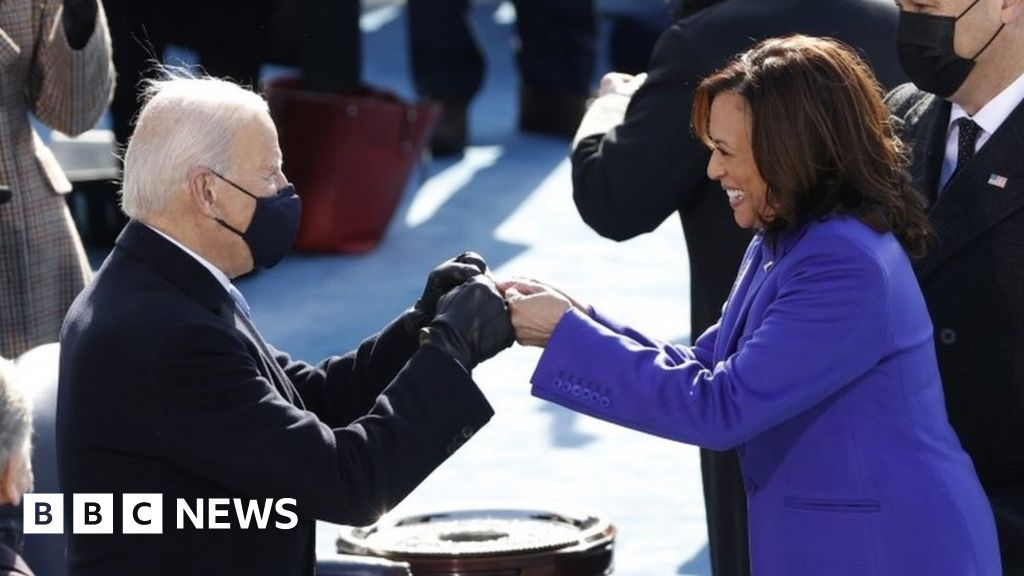 Biden inauguration: New president sworn in amid Trump snub