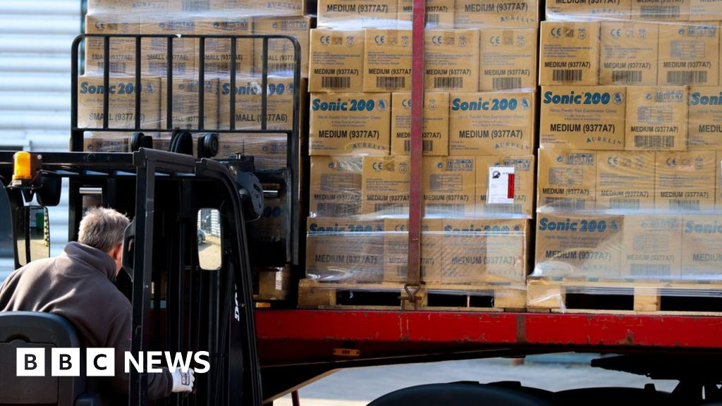 Firm's 88.5m medical gloves bought for NHS
