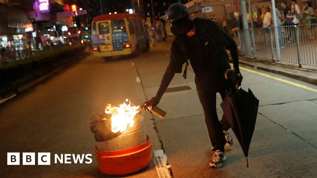 Hong Kong protests: President Xi warns of 'crushed bodies'