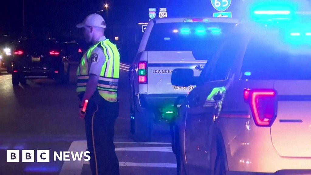 Alabama storm: Nine children and one adult killed in crash