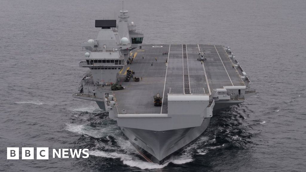 Major military exercises taking place off Scotland