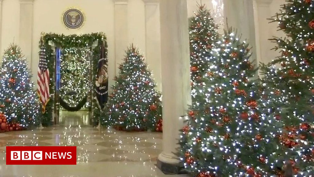 Whitehouse Christmas Decorations.White House Christmas Decorations Unveiled