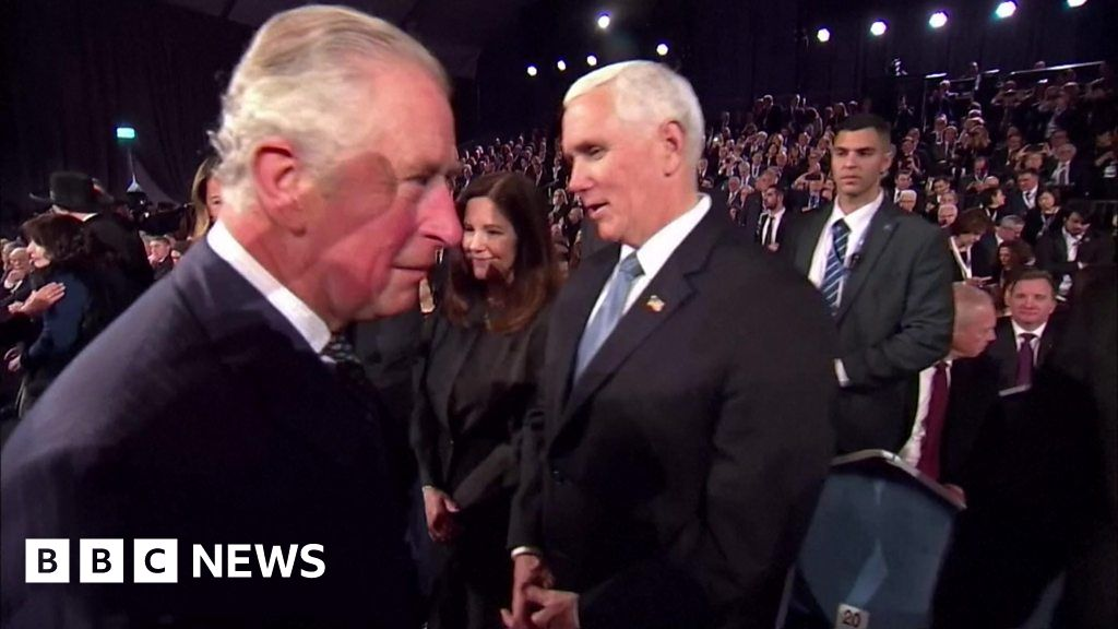 Prince Charles snubs US Vice-President Mike Pence