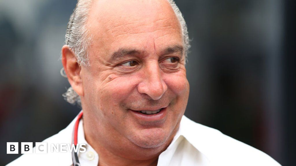 Sir Philip Green named over harassment claims