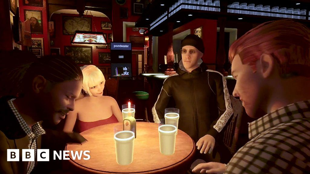 'Why I recreated my local pub in virtual reality' - bbc