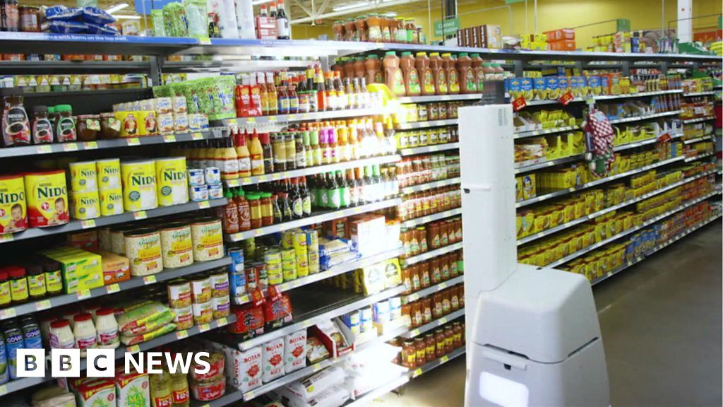 The Robot Supermarket Shelf Scanner and Other News