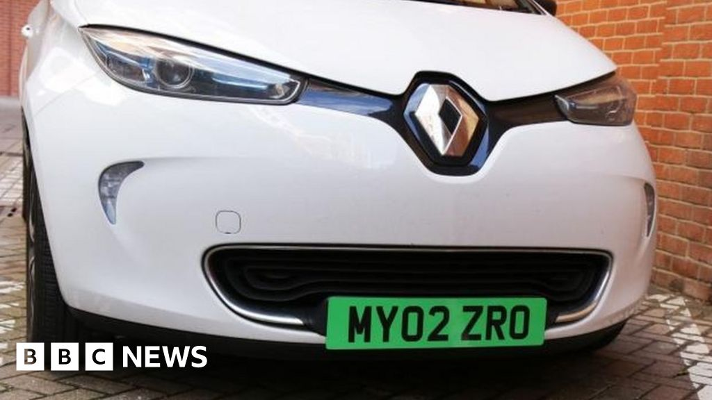 Green Number Plates Planned For Electric Cars Bbc News