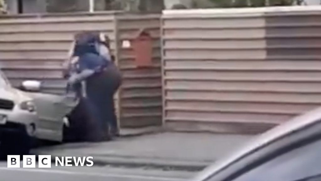 Christchurch Shooting Footage Detail: Footage Shows Christchurch Arrest