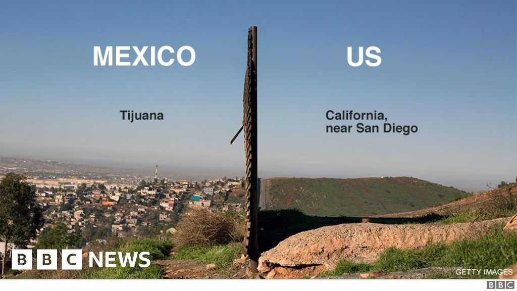 Trump wall - all you need to know about US border in seven charts - BBC News