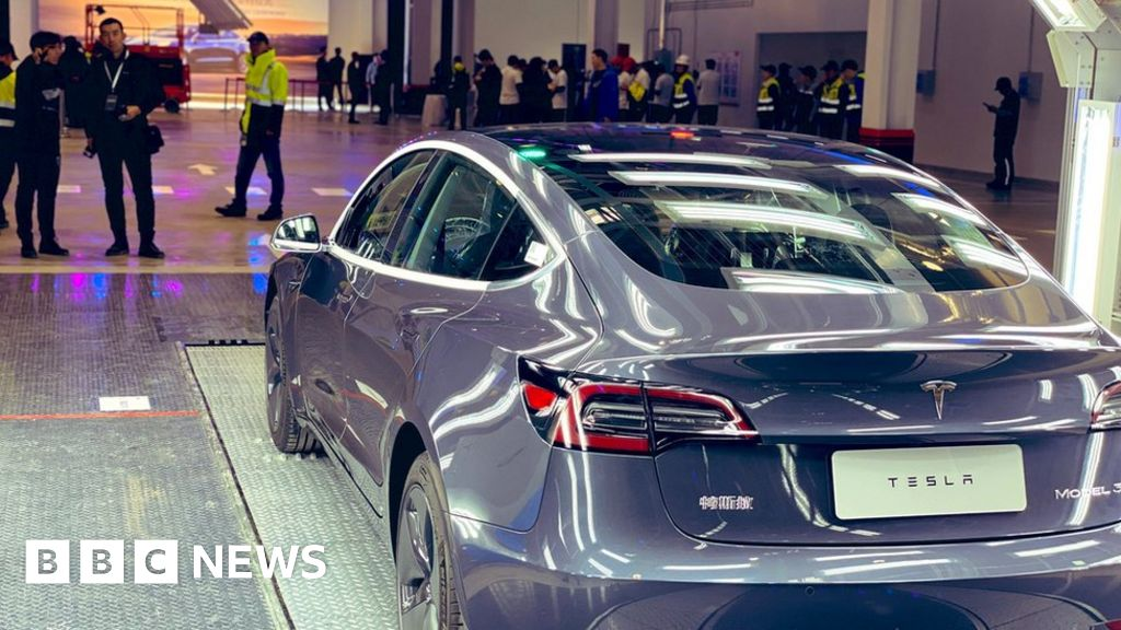 """Tesla has its first """"Made in China"""" cars"""