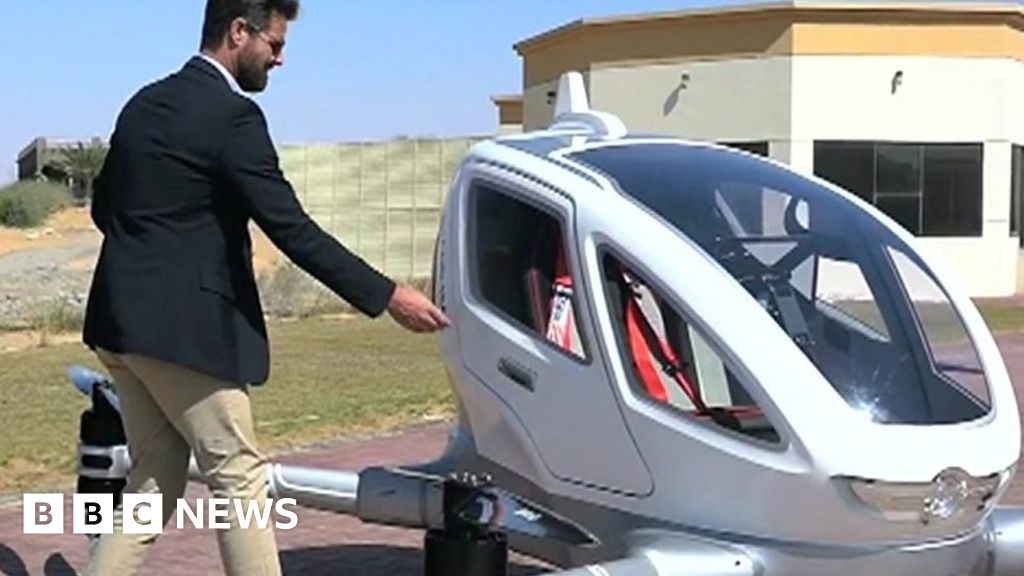 Sky Taxi To Fly In Dubai From July Bbc News