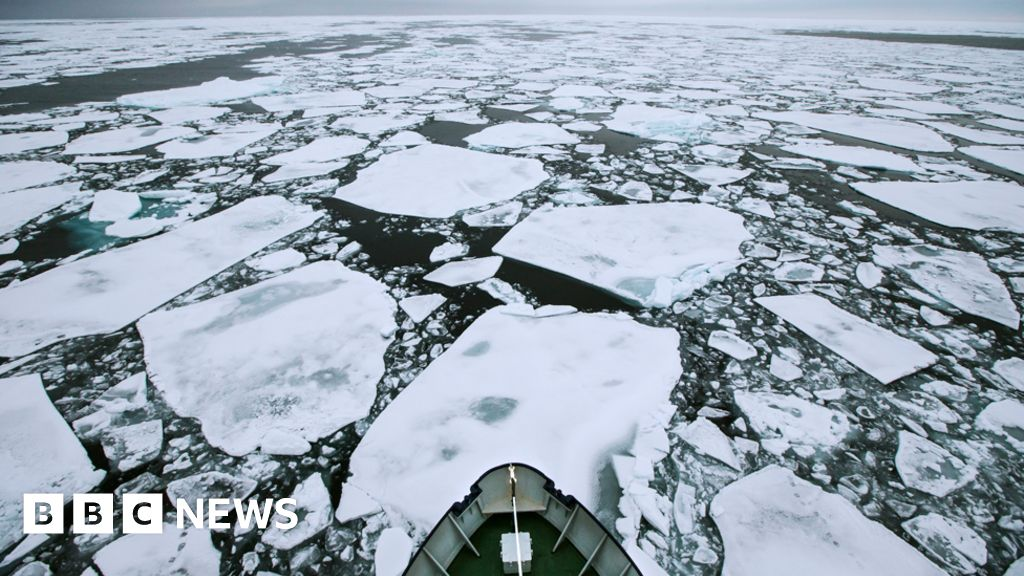 Arctic Ocean shipping routes 'to open for months' - BBC News